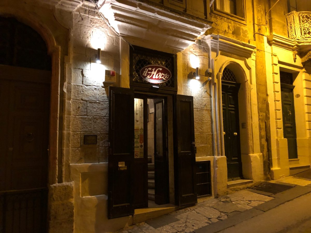 An Amazing Dinner at the Lovely Il-Horza, Valletta